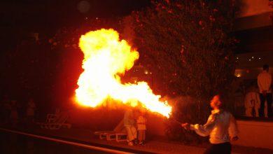 Ateşbaz Gösterisi