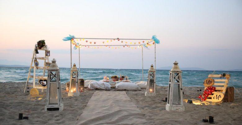 Kumsal Evlenme Teklifi Organizasyonu
