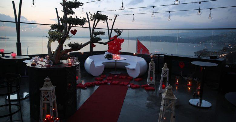 Restoran Evlilik Teklifi Organizasyonu