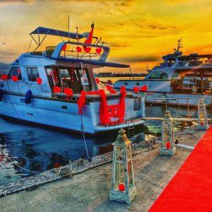 İzmir Teknede Evlilik Teklifi